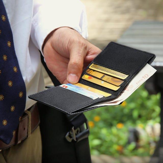 Compacte portemonnee voor mannen